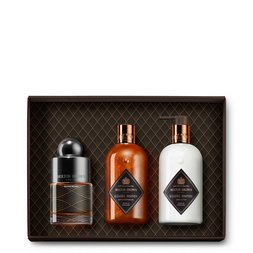 Molton Brown USA  Bizarre Brandy Body & Perfume Gift Set