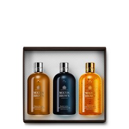 Molton Brown EU  Woody Body Wash Trio