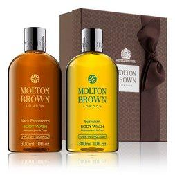 Molton Brown Australia Black Peppercorn & Bushukan Shower Gels Gift
