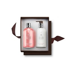 Molton Brown Australia Delicious Rhubarb & Rose Shower Gel & Lotion Set