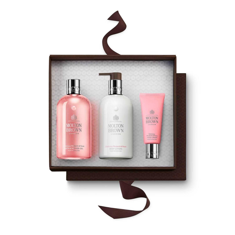 897309b0eb4 Delicious Rhubarb   Rose Hand   Body Gift Set
