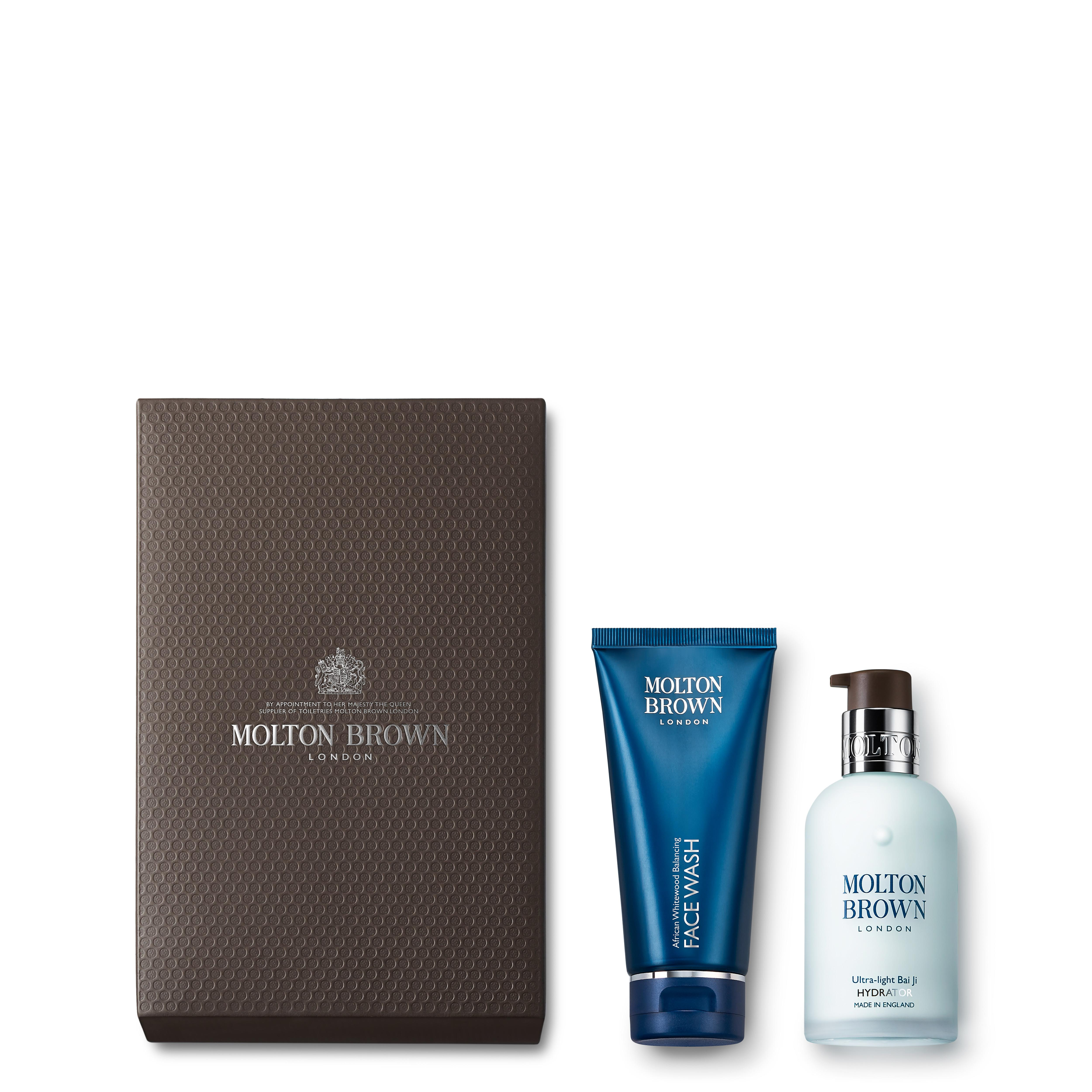 Men S Face Wash And Moisturiser Gift Set For Oily Skin Molton Brown Uk