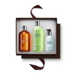 Molton Brown Australia Black Pepper Shower Gel, Shampoo & Moisturiser Gift Set for Him
