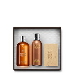 Molton Brown USA  Black Pepper Body Wash, Anti-perspirant Stick & Scrub Bar Gift Set for Him