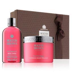Molton Brown Australia Pink Pepperpod Shower Gel & Body Scrub Gift Set