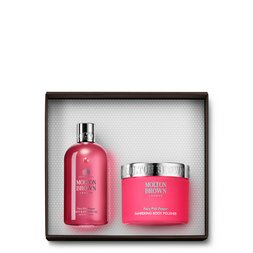 Molton Brown UK  Pink Pepper Shower Gel & Body Scrub Gift Set