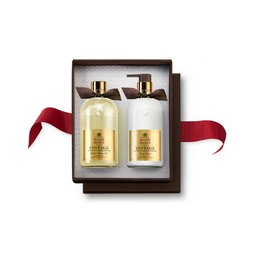 Molton Brown USA  Vintage With Elderflower Body Wash & Lotion Set