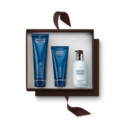 Molton Brown Australia Men's Face Wash, Shaving Gel & Hydrator Set