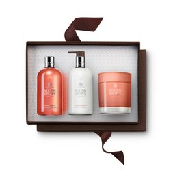 Molton Brown Australia Gingerlily Bath & Shower Gel, Body Lotion & Scented Candle Gift Set