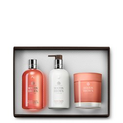 Molton Brown EU  Gingerlily Bath & Shower Gel, Body Lotion & Scented Candle Gift Set