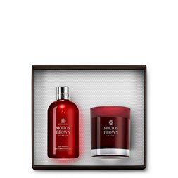 Molton Brown UK Rosa Absolute Bath & Candle Gift Set