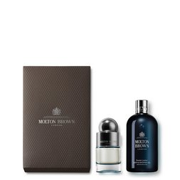Molton Brown EU  Russian Leather Shower Gel & Eau de Toilette Gift Set