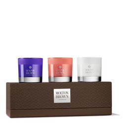 Molton Brown EU  Exotic Escapes Mini Scented Candles Gift Set