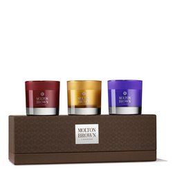 Molton Brown UK Rich Explorations Mini Scented Candles Gift Set