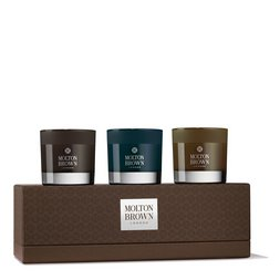 Molton Brown EU  Deep Adventures Mini Scented Candles Gift Set