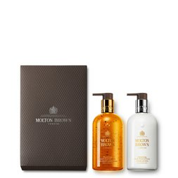 Molton Brown UK Oudh Accord & Gold Hand Wash & Lotion Set