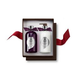 Molton Brown USA  Muddled Plum Body Wash & & Lotion Set