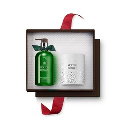 Molton Brown USA  Juniper Berries & Lapp Pine Hand & Candle Gift Set