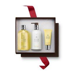 Molton Brown EU  Orange & Bergamot Shower Gel, Body Lotion & Hand Cream Gift Set