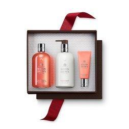Molton Brown UK Gingerlily Shower Gel, Body Lotion & Hand Cream Gift Set
