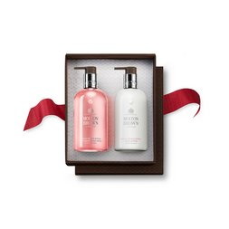 Molton Brown EUDelicious Rhubarb & Rose Hand Wash & Lotion Set