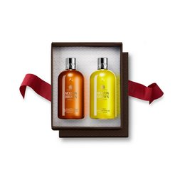 Molton Brown UK Black Pepper & Bushukan Shower Gels Gift
