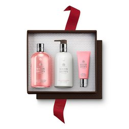 Molton Brown EUDelicious Rhubarb & Rose Hand & Body Gift Set