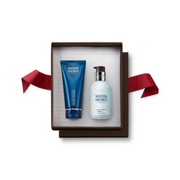 Molton Brown UK Men's Face Wash & Moisturiser Gift Set for Dry Skin