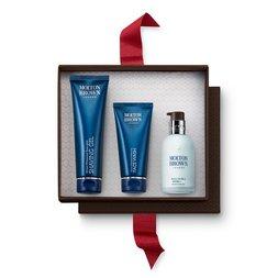 Molton Brown EUMen's Face Wash, Shaving Gel & Hydrator Set