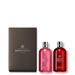 Molton Brown USA  Pink Pepper & Rosa Absolute 2-Piece Body Wash Gift Set