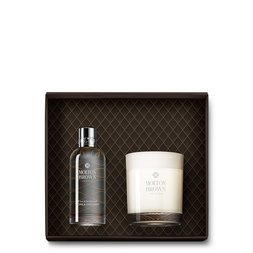 Molton Brown USA  Coco & Sandalwood Linen Mist & Single Wick Candle 2-Piece Set