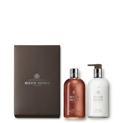Molton Brown UK Suede Orris Shower Gel & Body Lotion Gift Set