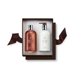 Molton Brown EU | Suede Orris Shower Gel & Body Lotion Geschenkset