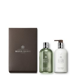 Molton Brown EU | Geranium Nefertum Shower Gel & Body Lotion Geschenkset