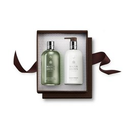 Molton Brown UK Geranium Nefertum Shower Gel & Body Lotion Gift Set