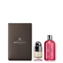 Molton Brown UK 50ml Fiery Pink Pepper Shower Gel & Fragrance Set