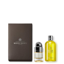 Molton Brown EU  50ml Bushukan Shower Gel & Fragrance Set