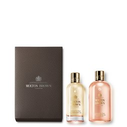 Molton Brown EU | Jasmine & Sun Rose Body Oil Geschenkset