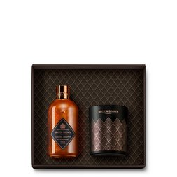 Molton Brown UK Bizarre Brandy Christmas Candle Gift Set